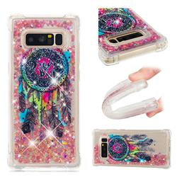 Seal Wind Chimes Dynamic Liquid Glitter Sand Quicksand Star TPU Case for Samsung Galaxy Note 8