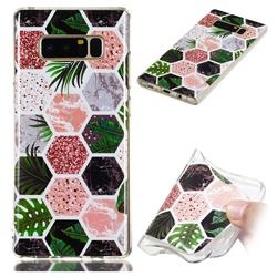Rainforest Soft TPU Marble Pattern Phone Case for Samsung Galaxy Note 8