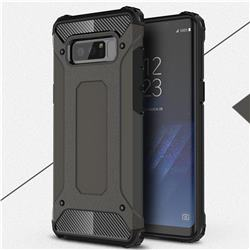 King Kong Armor Premium Shockproof Dual Layer Rugged Hard Cover for Samsung Galaxy Note 8 - Bronze