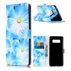 Orchid Flower PU Leather Wallet Case for Samsung Galaxy Note 8