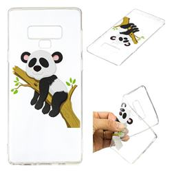 Tree Panda Super Clear Soft TPU Back Cover for Samsung Galaxy Note9
