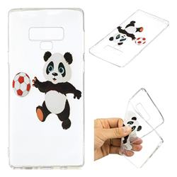 Football Panda Super Clear Soft TPU Back Cover for Samsung Galaxy Note9