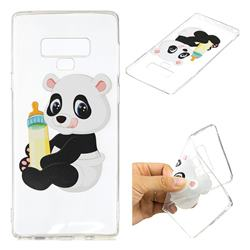 Baby Panda Super Clear Soft TPU Back Cover for Samsung Galaxy Note9