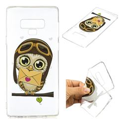 Envelope Owl Super Clear Soft TPU Back Cover for Samsung Galaxy Note9
