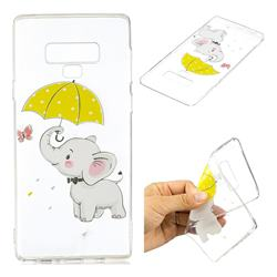 Umbrella Elephant Super Clear Soft TPU Back Cover for Samsung Galaxy Note9