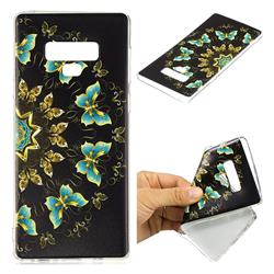 Circle Butterflies Super Clear Soft TPU Back Cover for Samsung Galaxy Note9