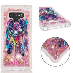 Seal Wind Chimes Dynamic Liquid Glitter Sand Quicksand Star TPU Case for Samsung Galaxy Note9