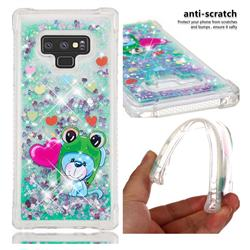 Heart Frog Lion Dynamic Liquid Glitter Sand Quicksand Star TPU Case for Samsung Galaxy Note9