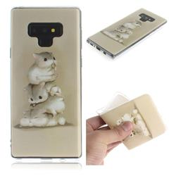 Three Squirrels IMD Soft TPU Cell Phone Back Cover for Samsung Galaxy Note9