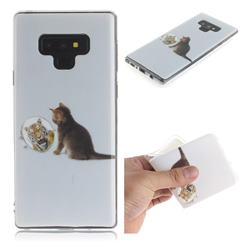 Cat and Tiger IMD Soft TPU Cell Phone Back Cover for Samsung Galaxy Note9