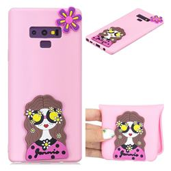 Violet Girl Soft 3D Silicone Case for Samsung Galaxy Note9
