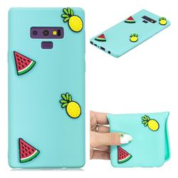 Watermelon Pineapple Soft 3D Silicone Case for Samsung Galaxy Note9