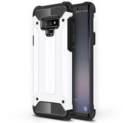 King Kong Armor Premium Shockproof Dual Layer Rugged Hard Cover for Samsung Galaxy Note9 - White