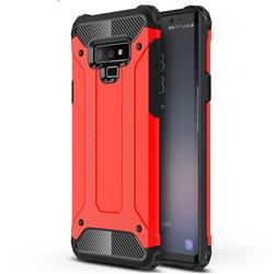 King Kong Armor Premium Shockproof Dual Layer Rugged Hard Cover for Samsung Galaxy Note9 - Big Red