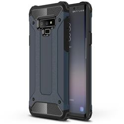 King Kong Armor Premium Shockproof Dual Layer Rugged Hard Cover for Samsung Galaxy Note9 - Navy