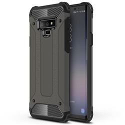King Kong Armor Premium Shockproof Dual Layer Rugged Hard Cover for Samsung Galaxy Note9 - Bronze