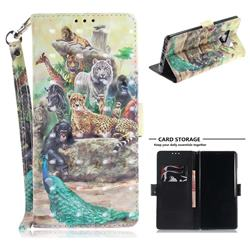 Beast Zoo 3D Painted Leather Wallet Phone Case for Samsung Galaxy Note9