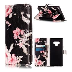 Azalea Flower PU Leather Wallet Case for Samsung Galaxy Note9