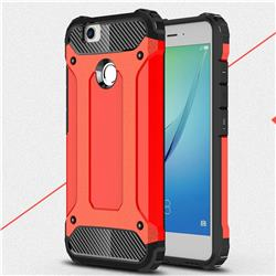 King Kong Armor Premium Shockproof Dual Layer Rugged Hard Cover for Huawei Nova - Big Red