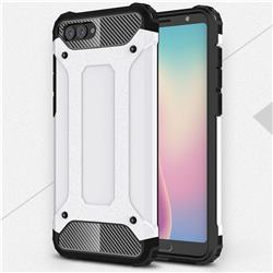 King Kong Armor Premium Shockproof Dual Layer Rugged Hard Cover for Huawei Nova 2s - White