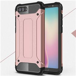 King Kong Armor Premium Shockproof Dual Layer Rugged Hard Cover for Huawei Nova 2s - Rose Gold