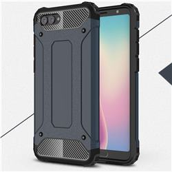 King Kong Armor Premium Shockproof Dual Layer Rugged Hard Cover for Huawei Nova 2s - Navy