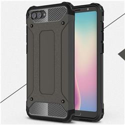 King Kong Armor Premium Shockproof Dual Layer Rugged Hard Cover for Huawei Nova 2s - Bronze