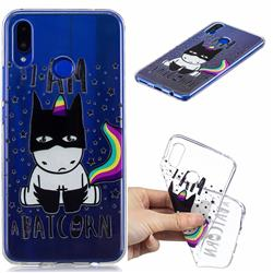 Batman Clear Varnish Soft Phone Back Cover for Huawei Nova 3