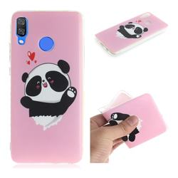 Heart Cat IMD Soft TPU Cell Phone Back Cover for Huawei Nova 3