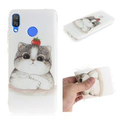 Cute Tomato Cat IMD Soft TPU Cell Phone Back Cover for Huawei Nova 3