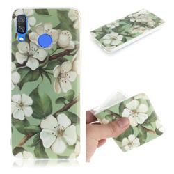 Watercolor Flower IMD Soft TPU Cell Phone Back Cover for Huawei Nova 3