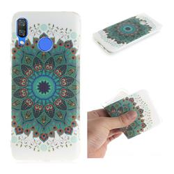 Peacock Mandala IMD Soft TPU Cell Phone Back Cover for Huawei Nova 3
