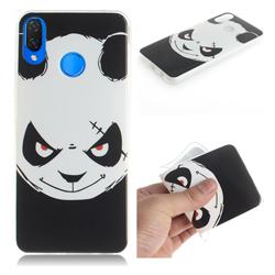 Angry Bear IMD Soft TPU Cell Phone Back Cover for Huawei P Smart+ (Nova 3i)