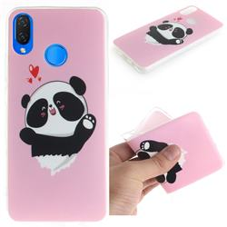 Heart Cat IMD Soft TPU Cell Phone Back Cover for Huawei P Smart+ (Nova 3i)