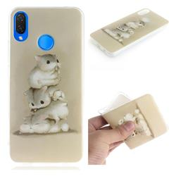 Three Squirrels IMD Soft TPU Cell Phone Back Cover for Huawei P Smart+ (Nova 3i)