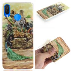 Beast Zoo IMD Soft TPU Cell Phone Back Cover for Huawei P Smart+ (Nova 3i)