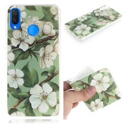 Watercolor Flower IMD Soft TPU Cell Phone Back Cover for Huawei P Smart+ (Nova 3i)