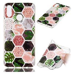 Rainforest Soft TPU Marble Pattern Phone Case for Huawei Nova 3i