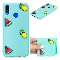 Watermelon Pineapple Soft 3D Silicone Case for Huawei P Smart+ (Nova 3i)