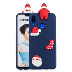 Navy Santa Claus Christmas Xmax Soft 3D Silicone Case for Huawei Nova 3i