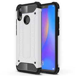 King Kong Armor Premium Shockproof Dual Layer Rugged Hard Cover for Huawei Nova 3i - White