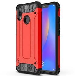 King Kong Armor Premium Shockproof Dual Layer Rugged Hard Cover for Huawei Nova 3i - Big Red