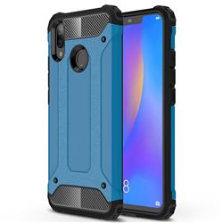 King Kong Armor Premium Shockproof Dual Layer Rugged Hard Cover for Huawei Nova 3i - Sky Blue