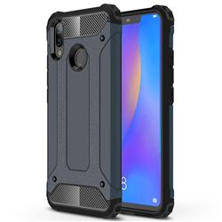 King Kong Armor Premium Shockproof Dual Layer Rugged Hard Cover for Huawei Nova 3i - Navy