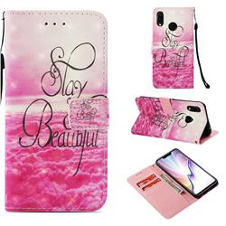 Beautiful 3D Painted Leather Wallet Case for Huawei P Smart+ (Nova 3i)