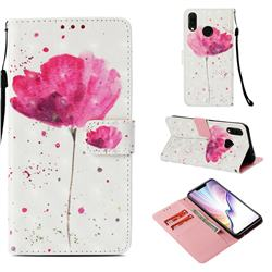 Watercolor 3D Painted Leather Wallet Case for Huawei P Smart+ (Nova 3i)