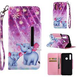 Fireworks Jumbo Big Metal Buckle PU Leather Wallet Phone Case for Huawei Nova 3i