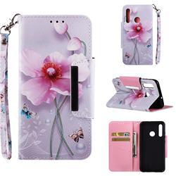 Pearl Flower Big Metal Buckle PU Leather Wallet Phone Case for Huawei Nova 3i