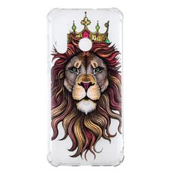 Lion King Anti-fall Clear Varnish Soft TPU Back Cover for Huawei nova 4