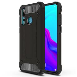 King Kong Armor Premium Shockproof Dual Layer Rugged Hard Cover for Huawei nova 4 - Black Gold
